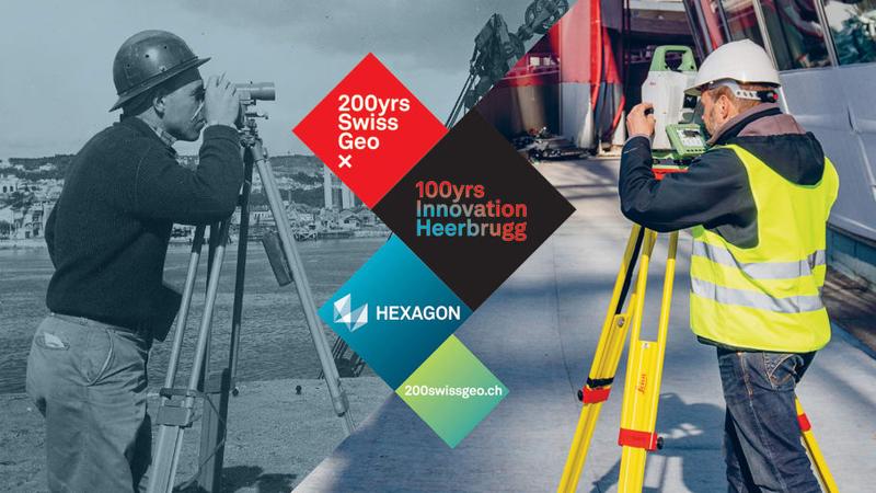 Hexagon firar 100 år av innovationer på Heinrich Wild-området i Heerbrugg