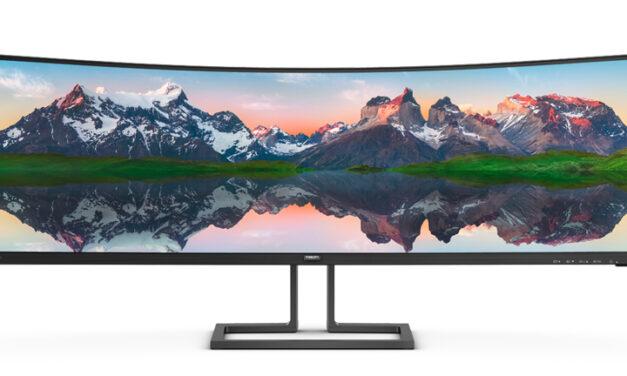 SuperWide-format och högkvalitativ prestanda: möt nya Philips 498P9Z