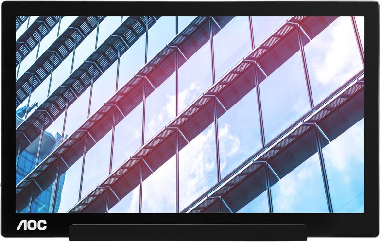 """AOC lanserar I1601P – en bärbar 15.6"""" skärm med hybrid USB-C och USB-A-anslutning"""