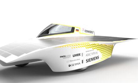 Team Sonnenwagen Aachen utilizes Siemens' software portfolio solutions to design the Sonnenwagen 3 solar race car