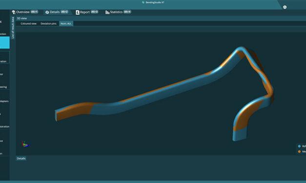 Rörmätning från ände till ände i en mjukvarulösning, från automatisering till portabel probning och skanning