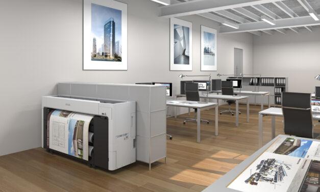 Epson lanserar nya högpresterande 44-tums skrivare för poster/fotoproduktion och CAD