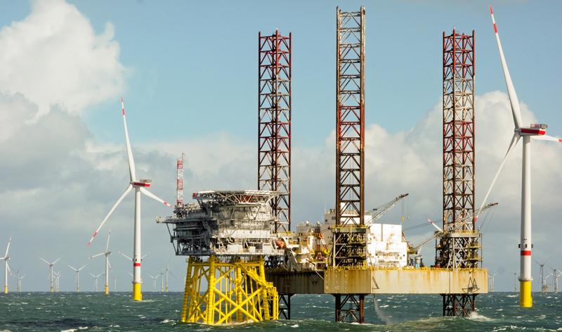 Tjänstesektorn för oljeutvinning redan inställd på grön omställning visar ny rapport